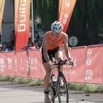 Beijing Int. Triathlon kurz vor der Wechslzone